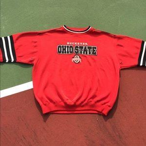 ❌SOLD❌90s NCAA Ohio State Buckeyes Crewneck